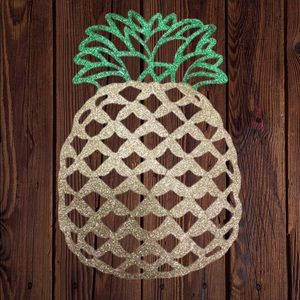 Other - Pineapple Glam Placemats Set of 4